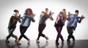 Jazz dancers a stylised combination of jazz funk and hip hop jfh