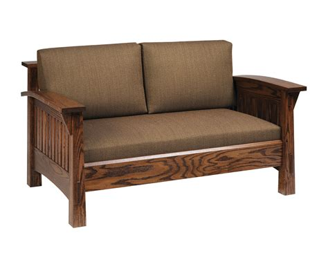 amish upholstery country mission sofa amish furniture designed
