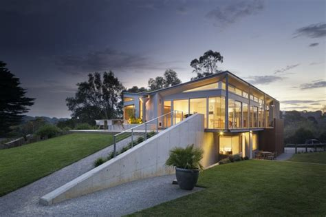 kit home design north coast seaside house on aussie coast with butterfly roof modern