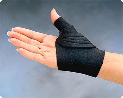 cool comfort thumb splint comfort cool thumb cmc restriction splint size large
