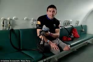 Ben parkinson britain s most injured soldier who lost his legs walks