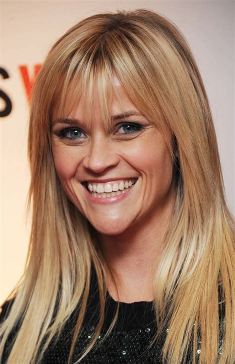what is up with julianne forhead reese witherspoon chose to adopt the bangs to cover up her