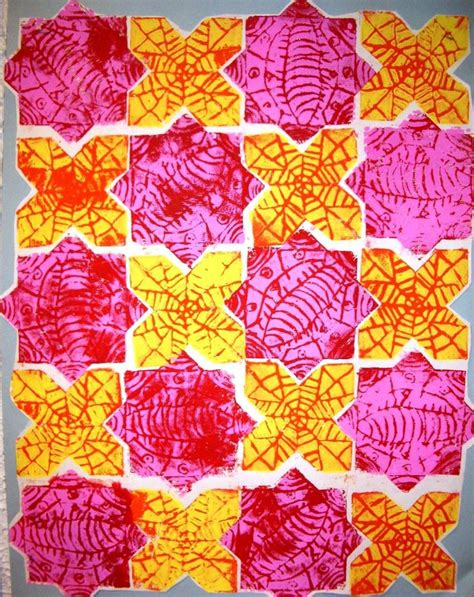 pattern in art ks2 247 best art lessons printmaking images on pinterest art