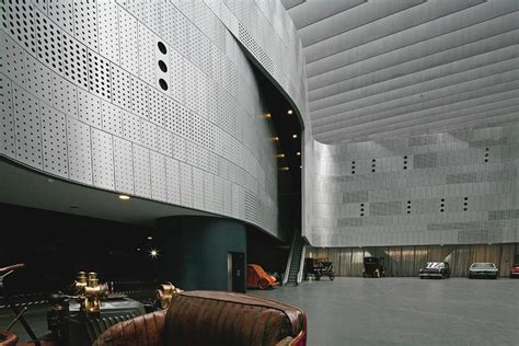 Interior Metal Cladding by A Museum S Second
