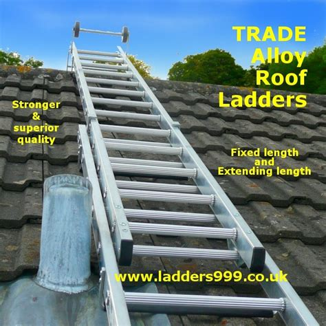 ladder on a roof roof ladders extending and fixed length models from
