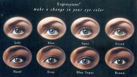expression color contacts expressions colors