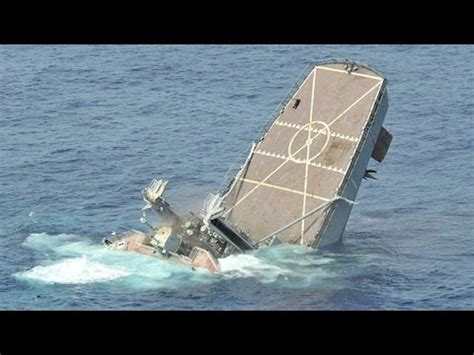 Sink Ships by Sinking A Us Navy Ship Direct Missile Hit Maritime