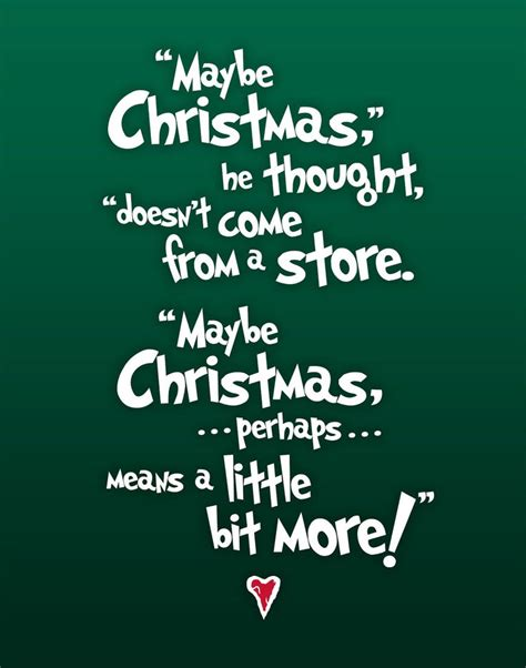 christmas subway art  grinch quote  grinch grinch   grinch quotes