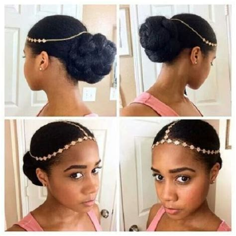 hair band hairstyle rock the fall with gorgeous natural hair accessories