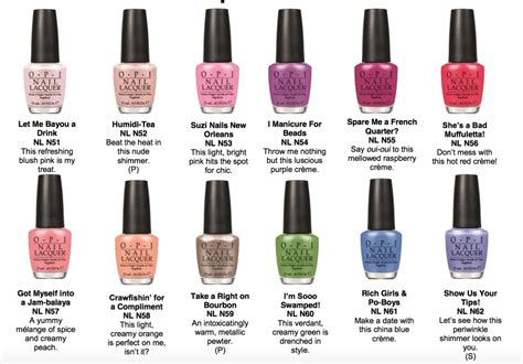 best opi nail colors opi new orleans nail colors the daily details