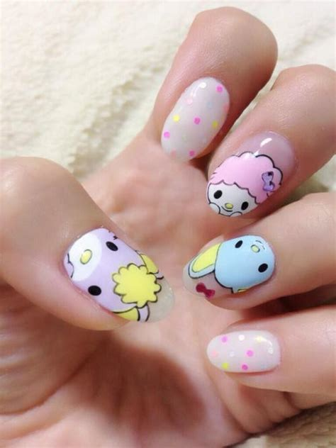 nail painting free 9 kawaii nail designs with pictures styles at