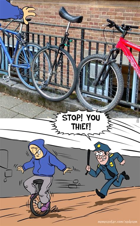 Unicycle Meme - grand theft unicycle by nedesem meme center