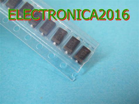 Smd Dioda Ss34 10x 1n5822 ss34 do 314aa smd diode schottky 2a 40v 2 400 en mercado libre