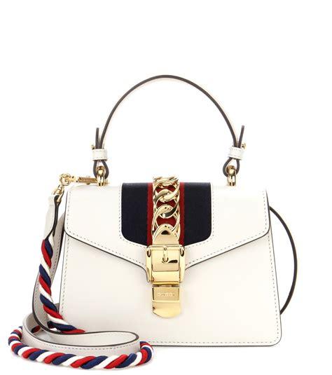Mini Gucci Fashion 1090 gucci sylvie mini leather crossbody bag bags handbags i leather