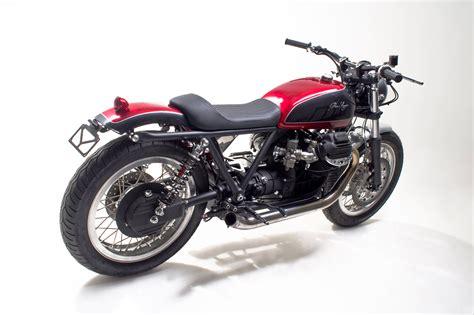moto guzzi sp1000 cafe racer de officine rossopuro purosangue an officine rossopuro moto guzzi cafe racer
