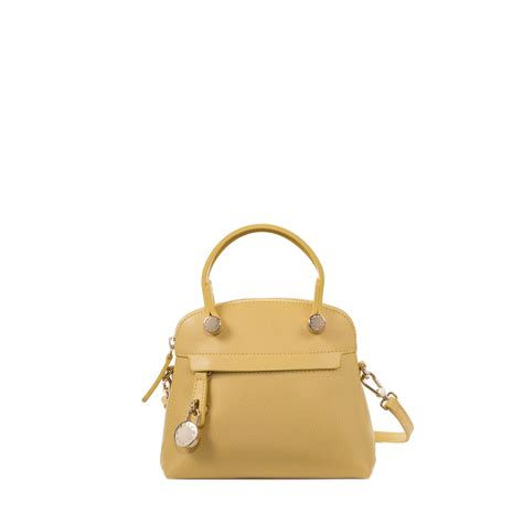 Mini Furla furla piper mini bag in yellow lyst
