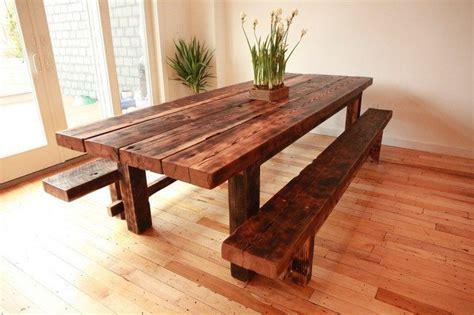 Bench Dining Set Diy Dining Table Ideas Decor Around The World