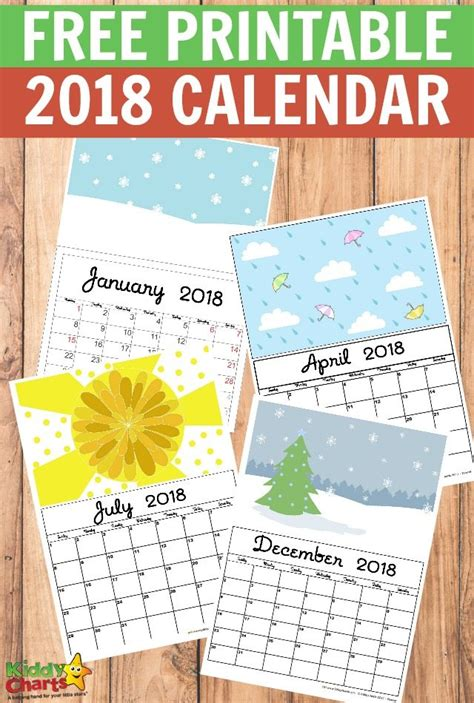 make photo calendar free 2018 2018 free printable calendars lolly