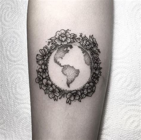 planet earth tattoo designs 50 impressive planet tattoos designs and ideas 2018