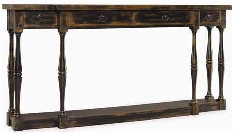 Hooker Furniture Sanctuary 3005 85001 Three Drawer Thin Thin Sofa Table