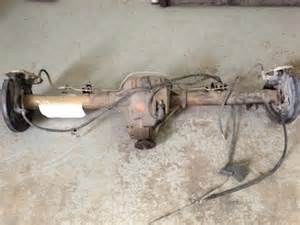 chassis suspension brakes driveline rear ends for sale on