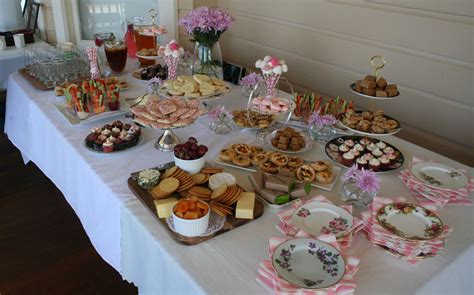 food ideas for afternoon wedding shower yvette s baby shower eat pray workout