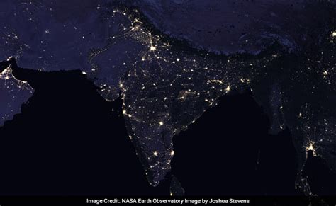 Astronomy At Nasa by India At As Seen From Space Nasa Releases Stunning New Images