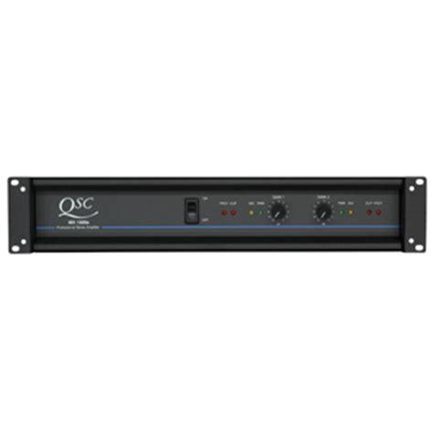 Power Lifier Qsc qsc mx2000