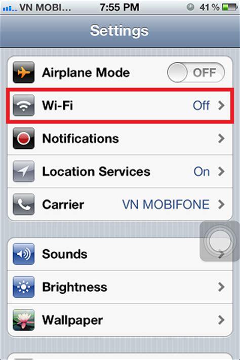 Wifi Iphone 4s turn on wifi on iphone 4s 4 rapid development