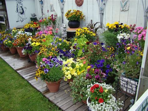 Garden In Pots Ideas Create A Clever Container Garden Using An Wagon Photo Huffpost