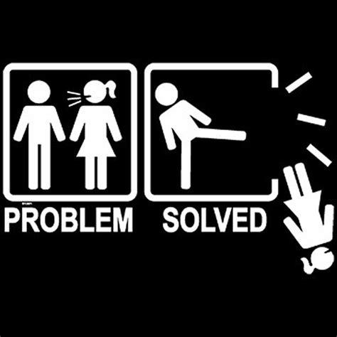 T Shirt Problem t shirt humour femme probl 232 me solution