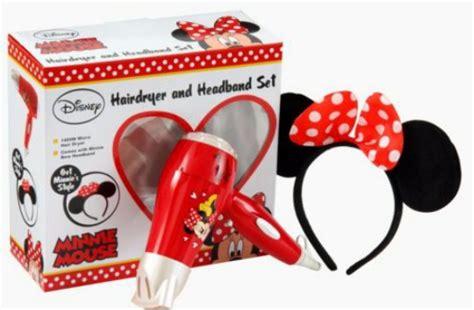 Asda Hair Dryer Deals disney minnie mouse 1400w hair dryer and headband 163 12 09