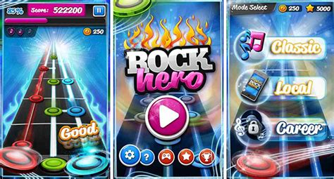 cara bermain gitar hero 5 game android mirip guitar hero paling seru jalantikus com