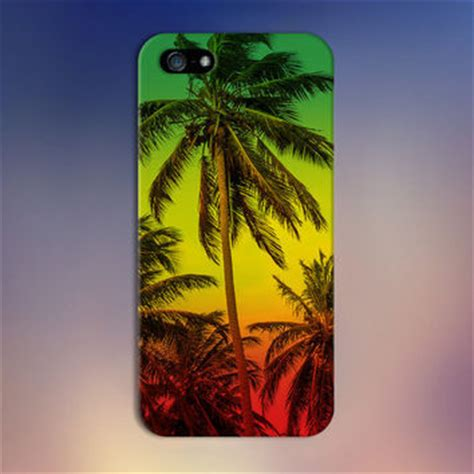 rasta themes for iphone 4s rasta jamaica palm trees x red yellow from caseescape on etsy