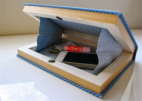 How To Make A Clutch Purse Out Of Paper - 10 diy tutorials for a book clutch guide patterns