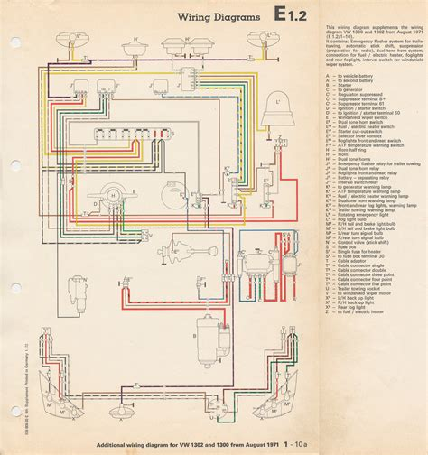 71 beetle coil wiring diagram 71 free engine image