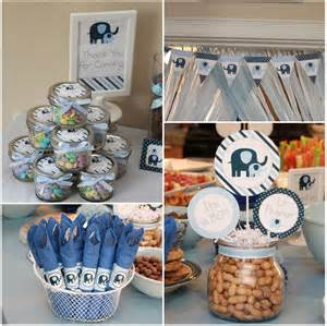elephant themed baby shower for home theme ideas