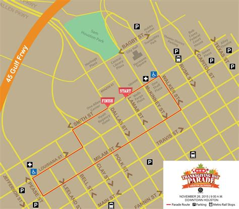 route of new year parade 2016 city officials announce details for houston s thanksgiving
