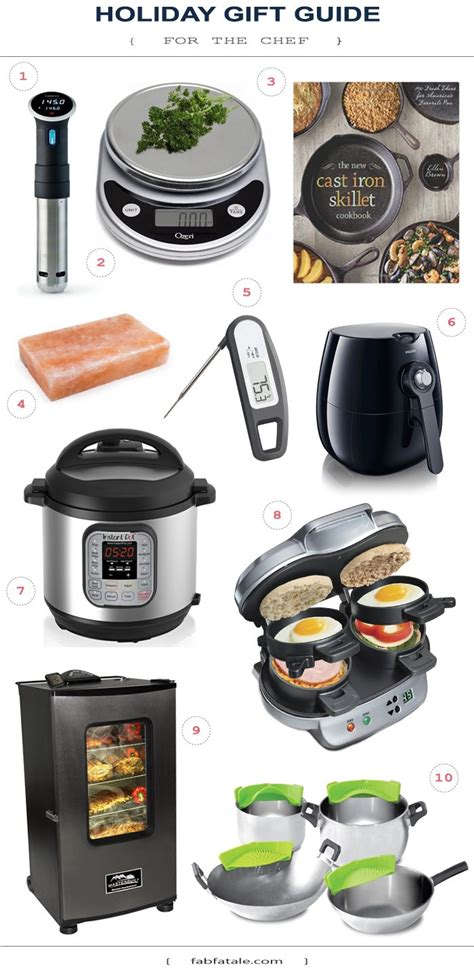 christmas gifts for home chefs home fab fatale