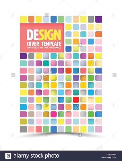 vector book cover design template flyer layout magazine