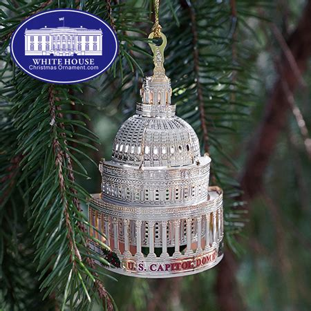 2016 us capitol led dome ornament