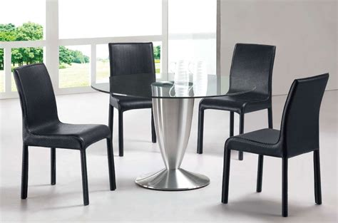 modern black dining room sets modern dining room sets marceladick com