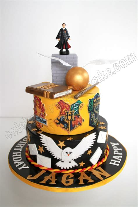 Tje Two Way Cake 3d 14g No 2 celebrate with cake harry potter cake
