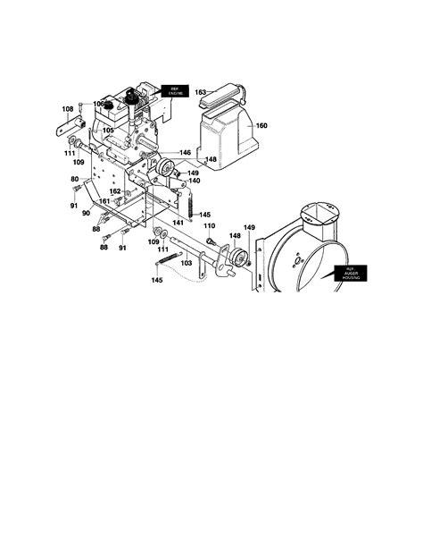 Craftsman model C950-52930-0 snowthrower, gas genuine parts
