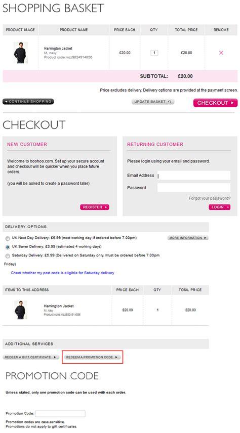 Boohoo Gift Card Code - boohoo gift voucher code uk gift ftempo