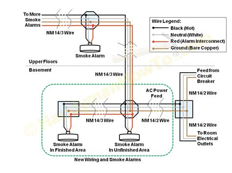 how to install smoke detector hard wired smoke detector wiring diagrams wiring diagram