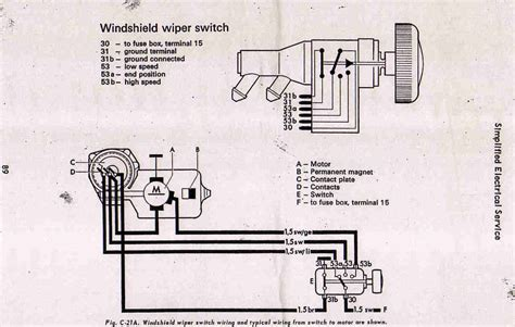1968 vw fuse diagram