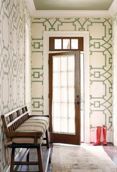 foyer wallpaper ideas entry foyer hallway area wallpaper for the home