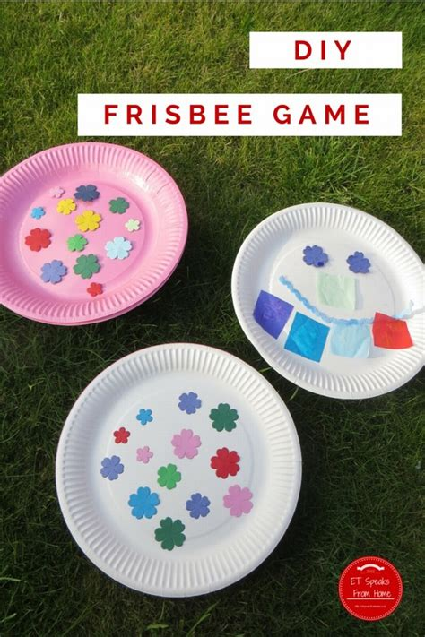 How To Make A Paper Frisbee - frisbee et speaks from home