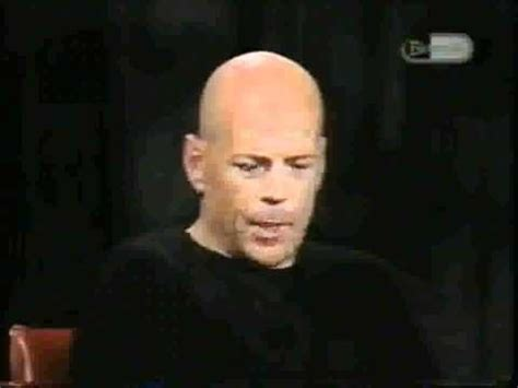 Bruce Willis Irritated By Outspoken Actors by Inside The Actors Studio Bruce Willis Inside The